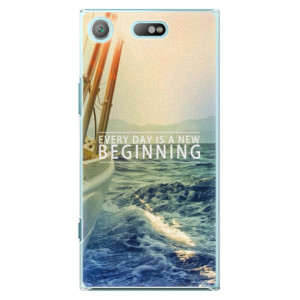 Plastové pouzdro iSaprio Beginning na mobil Sony Xperia XZ1 Compact
