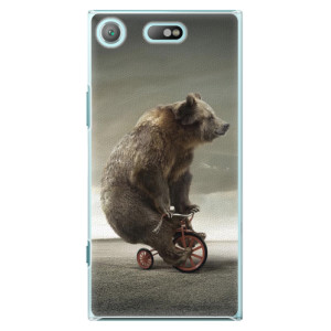 Plastové pouzdro iSaprio Bear 01 na mobil Sony Xperia XZ1 Compact