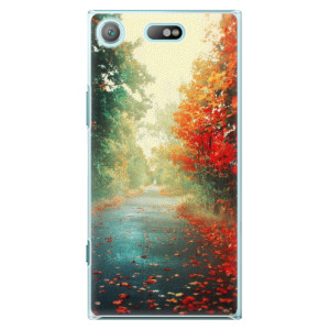Plastové pouzdro iSaprio Autumn 03 na mobil Sony Xperia XZ1 Compact