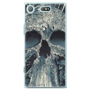 Plastové pouzdro iSaprio Abstract Skull na mobil Sony Xperia XZ1 Compact