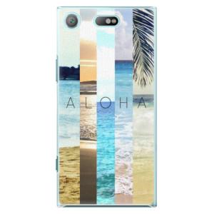 Plastové pouzdro iSaprio Aloha 02 na mobil Sony Xperia XZ1 Compact