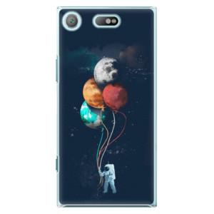 Plastové pouzdro iSaprio Balloons 02 na mobil Sony Xperia XZ1 Compact