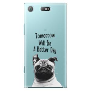 Plastové pouzdro iSaprio Better Day 01 na mobil Sony Xperia XZ1 Compact