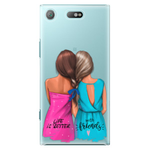 Plastové pouzdro iSaprio Best Friends na mobil Sony Xperia XZ1 Compact