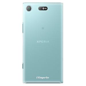 Plastové pouzdro iSaprio 4Pure mléčné bez potisku na mobil Sony Xperia XZ1 Compact