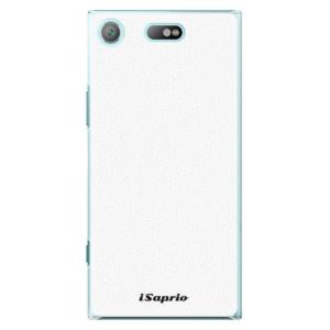 Plastové pouzdro iSaprio 4Pure bílé na mobil Sony Xperia XZ1 Compact
