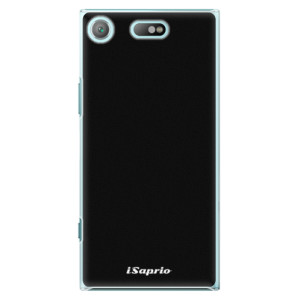 Plastové pouzdro iSaprio 4Pure černé na mobil Sony Xperia XZ1 Compact