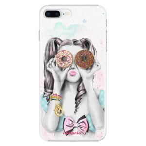 Plastové pouzdro iSaprio Donutky Očiska 10 na mobil Apple iPhone 8 Plus