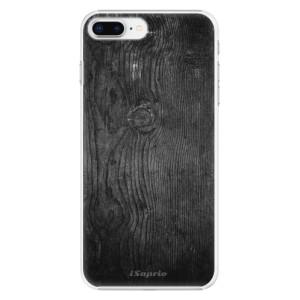 Plastové pouzdro iSaprio black Wood 13 na mobil Apple iPhone 8 Plus