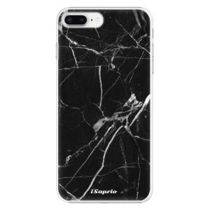 Plastové pouzdro iSaprio black Marble 18 na mobil Apple iPhone 8 Plus