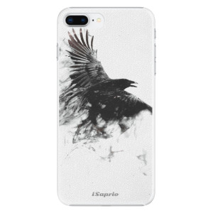 Plastové pouzdro iSaprio Havran 01 na mobil Apple iPhone 8 Plus