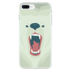 Plastové pouzdro iSaprio Angry Bear na mobil Apple iPhone 8 Plus