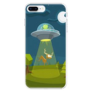 Plastové pouzdro iSaprio Alien 01 na mobil Apple iPhone 8 Plus