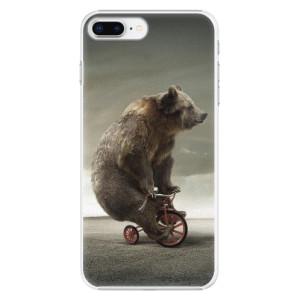 Plastové pouzdro iSaprio Bear 01 na mobil Apple iPhone 8 Plus