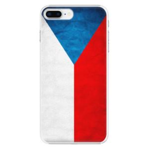 Plastové pouzdro iSaprio Česká Vlajka na mobil Apple iPhone 8 Plus
