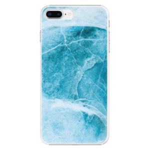 Plastové pouzdro iSaprio Blue Marble na mobil Apple iPhone 8 Plus