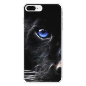 Plastové pouzdro iSaprio black Puma na mobil Apple iPhone 8 Plus