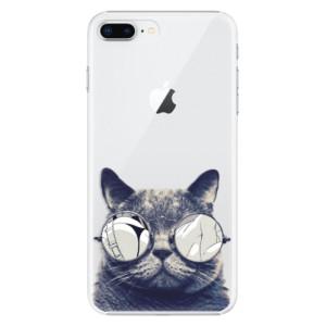 Plastové pouzdro iSaprio Šílená Číča 01 na mobil Apple iPhone 8 Plus