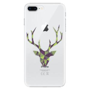 Plastové pouzdro iSaprio Zelený Jelínek na mobil Apple iPhone 8 Plus