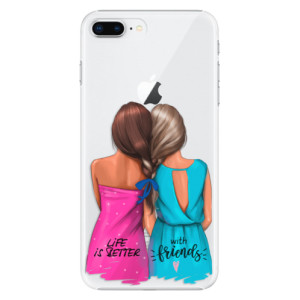 Plastové pouzdro iSaprio Best Friends na mobil Apple iPhone 8 Plus