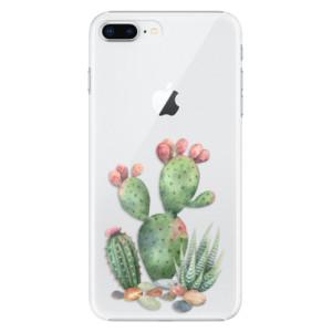 Plastové pouzdro iSaprio Kaktusy 01 na mobil Apple iPhone 8 Plus