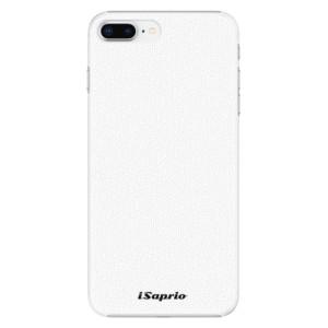 Plastové pouzdro iSaprio 4Pure bílé na mobil Apple iPhone 8 Plus