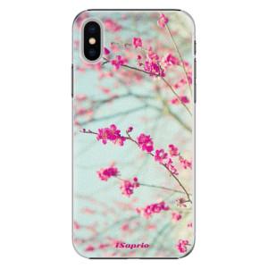 Plastové pouzdro iSaprio Blossom 01 na mobil Apple iPhone X