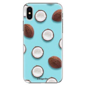 Plastové pouzdro iSaprio Kokos 01 na mobil Apple iPhone X