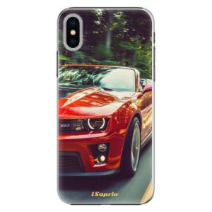 Plastové pouzdro iSaprio Chevrolet 02 na mobil Apple iPhone X