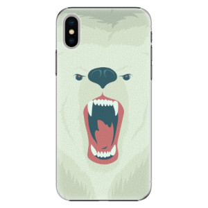 Plastové pouzdro iSaprio Angry Bear na mobil Apple iPhone X
