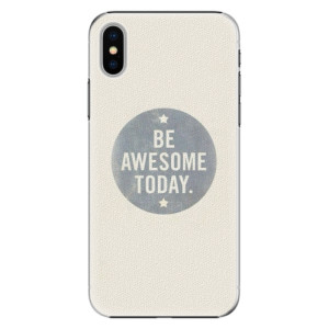 Plastové pouzdro iSaprio Awesome 02 na mobil Apple iPhone X