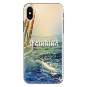 Plastové pouzdro iSaprio Beginning na mobil Apple iPhone X