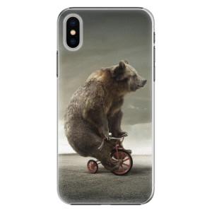 Plastové pouzdro iSaprio Bear 01 na mobil Apple iPhone X