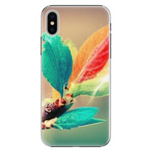 Plastové pouzdro iSaprio Autumn 02 na mobil Apple iPhone X