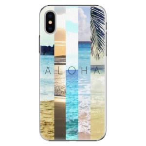 Plastové pouzdro iSaprio Aloha 02 na mobil Apple iPhone X