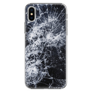 Plastové pouzdro iSaprio Praskliny na mobil Apple iPhone X
