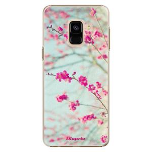 Plastové pouzdro iSaprio Blossom 01 na mobil Samsung Galaxy A8 2018