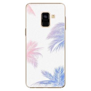 Plastové pouzdro iSaprio Palmy 10 na mobil Samsung Galaxy A8 2018