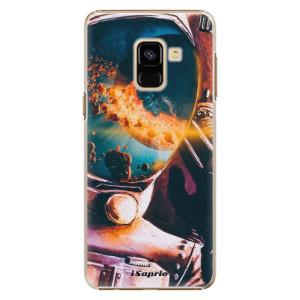 Plastové pouzdro iSaprio Astronaut 01 na mobil Samsung Galaxy A8 2018