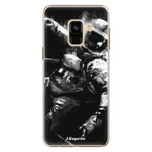 Plastové pouzdro iSaprio Astronaut 02 na mobil Samsung Galaxy A8 2018