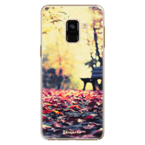 Plastové pouzdro iSaprio Bench 01 na mobil Samsung Galaxy A8 2018