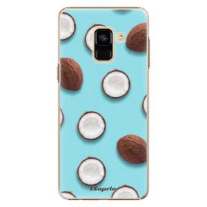 Plastové pouzdro iSaprio Kokos 01 na mobil Samsung Galaxy A8 2018