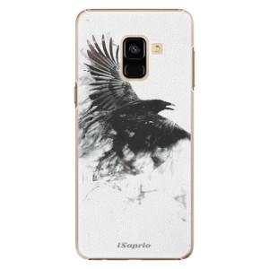 Plastové pouzdro iSaprio Havran 01 na mobil Samsung Galaxy A8 2018