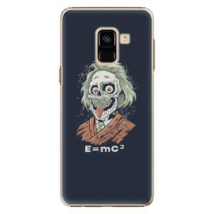 Plastové pouzdro iSaprio Einstein 01 na mobil Samsung Galaxy A8 2018