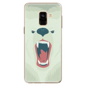 Plastové pouzdro iSaprio Angry Bear na mobil Samsung Galaxy A8 2018