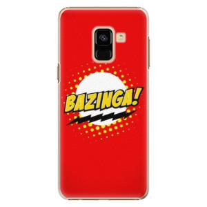 Plastové pouzdro iSaprio Bazinga 01 na mobil Samsung Galaxy A8 2018