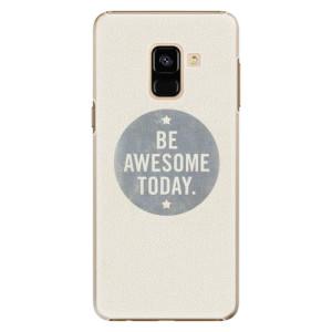Plastové pouzdro iSaprio Awesome 02 na mobil Samsung Galaxy A8 2018