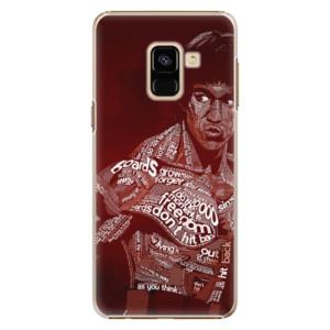 Plastové pouzdro iSaprio Bruce Lee na mobil Samsung Galaxy A8 2018