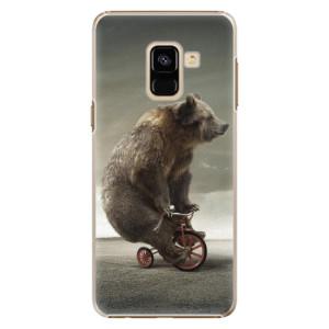 Plastové pouzdro iSaprio Bear 01 na mobil Samsung Galaxy A8 2018