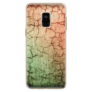 Plastové pouzdro iSaprio Rozpraskaná Zeď 01 na mobil Samsung Galaxy A8 2018